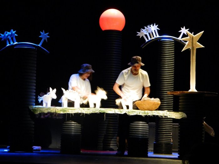 Los primeros burritos: Teatro de títeres para niños en Zaragoza
