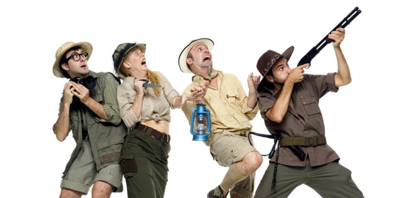 """Teatro infantil de aventuras: """"Zoo"""" en Valladolid"""