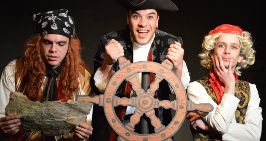El pirata Malapata en busca del tesoro: Teatro infantil en Madrid