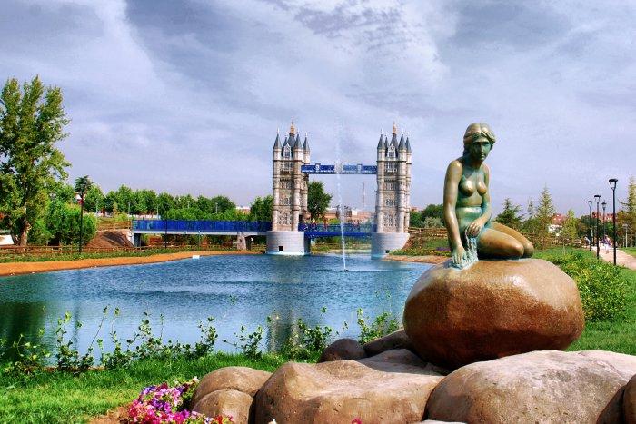 Parque Europa, un espacio para el ocio en pleno Madrid