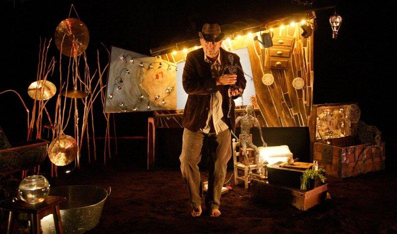 El intrépido viaje de un hombre y un pez: Teatro para niños en Barcelona