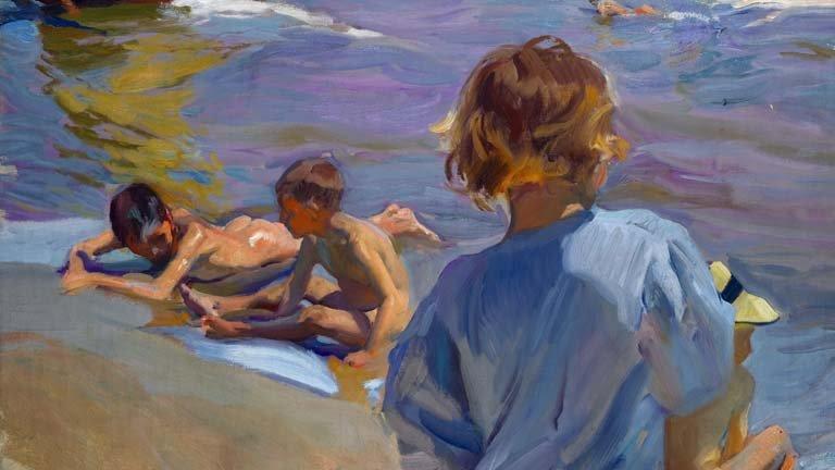 Sorolla el color del mar exposici n de arte para ni os en zaragoza - Pintores zaragoza ...