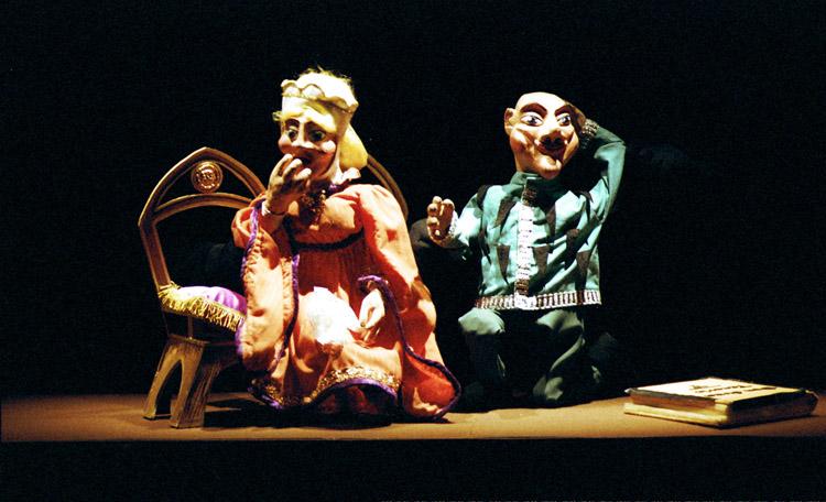 """Teatro para niños en Zaragoza: """"El caballero negro"""""""