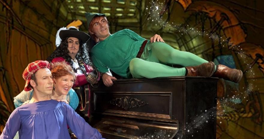 Peter Pan en el País de la Ópera, en el Teatro Quevedo