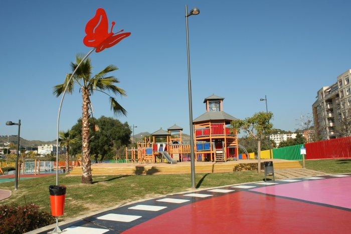 Parque del Cine: Un sitio de película en Málaga