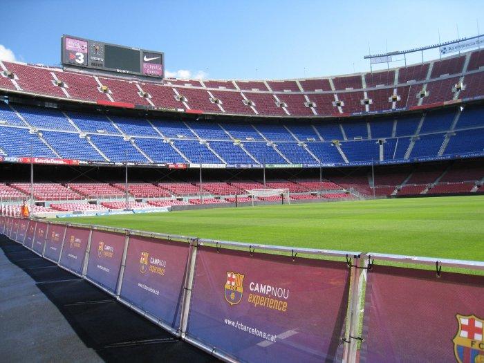 Camp Nou Experience: Vivir el fútbol con los niños en Barcelona