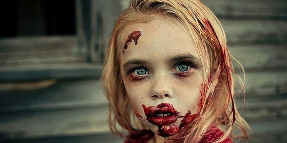 Las mil caras del miedo: Sesión de maquillaje para niños en Madrid