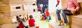 Parque infantil Ekogunea: Un espacio abierto a la creatividad en Donostia